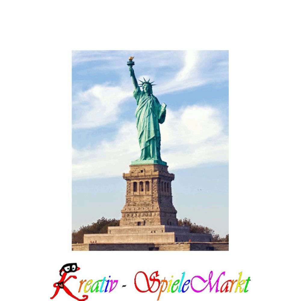 cubic fun 3d puzzle statue of liberty freiheitsstatue new york usa mit led beleuchtung. Black Bedroom Furniture Sets. Home Design Ideas